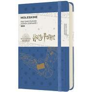Moleskine 12 mesi - Agenda giornaliera Limited Edition Harry Potter blu - Pocket copertina rigida 2022