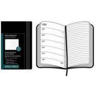 Moleskine 18 mesi - Weekly Notebook Diary - Pocket - Copertina morbida nera 2011-2012 Dimensioni 9 x 14 cm