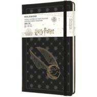 Moleskine 18 mesi - Agenda settimanale Limited Edition Harry Potter nero - Large copertina ### 2021-2022