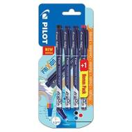 Confezione 4 penne cancellabili Frixion Fineliner 3 colori