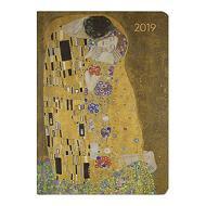 Agenda 2019 settimanale 12 mesi Ladytimer Klimt