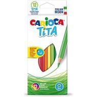 Confezione 12 matite colorate Tita