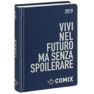 Agenda Comix 2018-2019. Diario 16 mesi. Blu