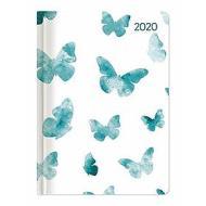 Agenda 12 mesi settimanale 2020 Ladytimer Butterflies