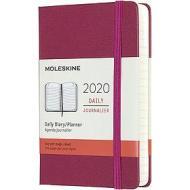 Moleskine 12 mesi - Agenda giornaliera rosa - Pocket copertina rigida 2020