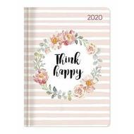 Agenda 12 mesi settimanale 2020 Ladytimer Think happy