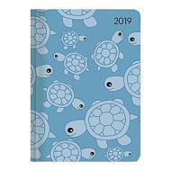 Agenda 2019 settimanale 12 mesi Ladytimer Turtles