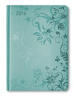 Ladytimer Torquoise Flowers Agenda Settimanale 2016