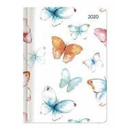 Agenda 12 mesi settimanale 2020 Ladytimer Grande Pastel Butterflies