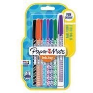 Confezione 8 penne a sfera InkJoy 100 Fun colori assortiti