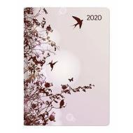 Agenda 12 mesi giornaliera 2020 Style Hummingbird Tree