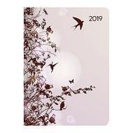 Agenda 2019 giornaliera 12 mesi Ladytimer Style Hummingbird Tree