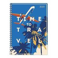 Agenda 12 mesi settimanale spiralata 2020 Ladytimer Time to Travel