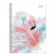 Agenda 12 mesi settimanale spiralata 2020 Ladytimer Flamingos