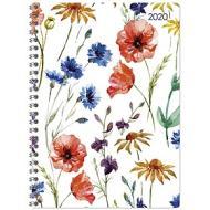 Agenda 12 mesi settimanale spiralata 2020 Ladytimer Flowers
