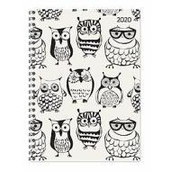 Agenda 12 mesi settimanale spiralata 2020 Ladytimer Owls