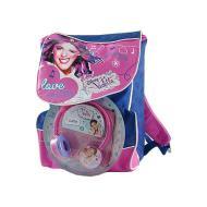 """Zaino estensibile Multi """"Violetta Disney"""" in tessuto poliestere (LSC12950)"""