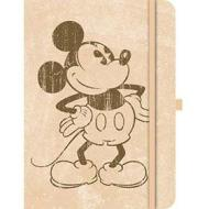 Green Journal large Mickey Retro