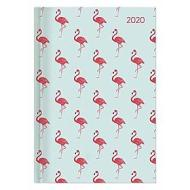 Agenda 12 mesi giornaliera 2020 Style Flamingos