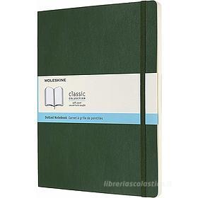 Moleskine - Taccuino Classic pagine a puntini verde - Extra Large copertina morbida
