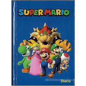 Diario 12 mesi Super Mario blu non datato