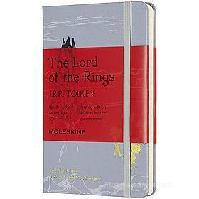 Moleskine - Taccuino a righe Il Signore degli Anelli Isengard - Pocket copertina rigida