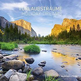 Calendario 2021 Holiday Dreams 30x30