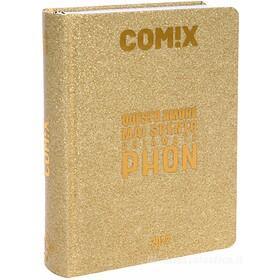 Comix 2021-2022. Agenda 16 mesi mini. Oro glitter
