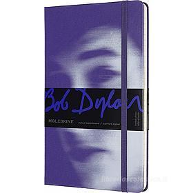Moleskine - Taccuino a righe Bob Dylan viola - Large copertina rigida