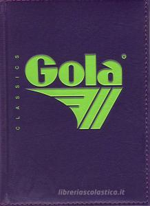 Diario Gola non datato 12 mesi. Viola e verde
