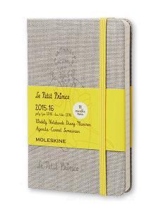 Moleskine 18 mesi - Agenda settimanale notebook Il Piccolo Principe - Pocket - Copertina rigida 2015 – 2016