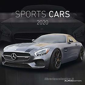 Calendario 2020 Sports Cars 30x30 cm