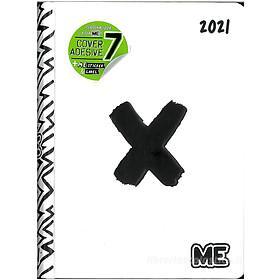 Diario agenda ME My Evolution 2020-2021 16 mesi. Bianco (simbolo x)