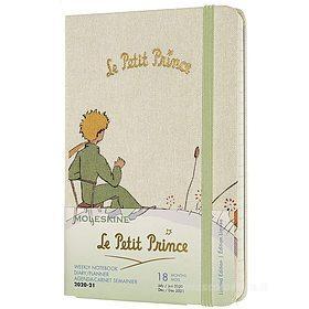 Moleskine 18 mesi - Agenda settimanale Limited Edition Il Piccolo Principe - Pocket copertina rigida 2020-2021