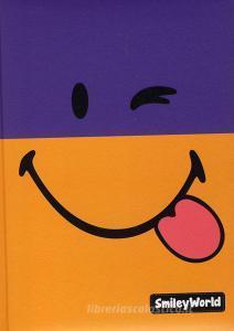 Diario Smiley World non datato 12 mesi. Viola e arancio
