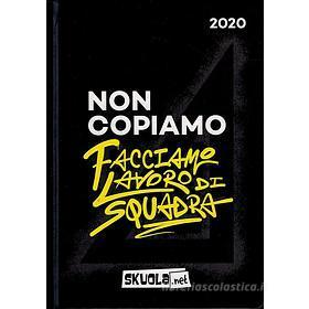 Skuola.net 2019-2020. Agenda 16 mesi. Nero