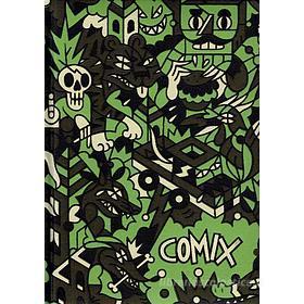 Comix 2019-2020. Agenda 16 mesi mini Special Edition. Grigio e verde