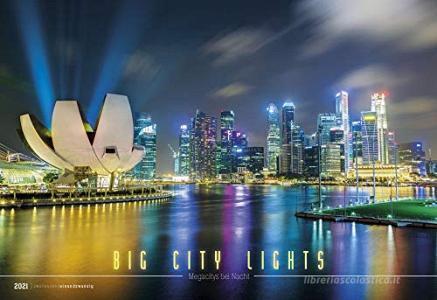 Calendario 2021 Big City Light 49,5x34