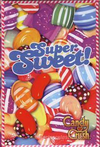 Diario Candy Crush - Super Sweet non datato 12 mesi