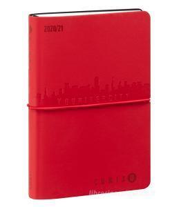 Comix U Younivercity Medium Agenda 2020/2021 settimanale 13 mesi. Rosso