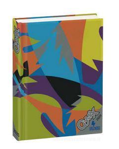 Comix Flash 2019-2020. Diario agenda 13 mesi. Fantasia multicolore