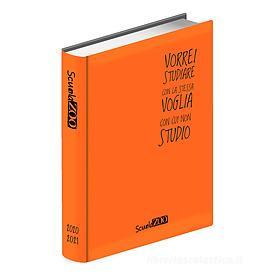 ScuolaZoo 2020-2021. Diario 16 mesi large. Arancione