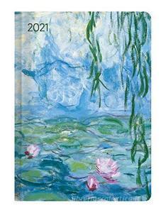 Agenda 12 mesi settimanale 2021 Ladytimer Monet