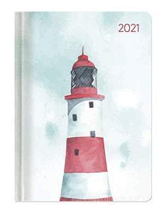 Agenda 12 mesi settimanale 2021 Ladytimer Pastel Lighthouse