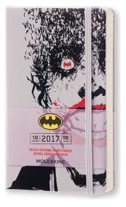 Moleskine 18 mesi - Agenda settimanale Batman – Pocket 2016-2017