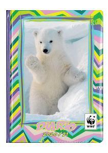 WWF Diario 2020/2021 12 mesi orso bianco