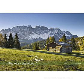 Calendario 2019 The Alps 49,5x34 cm