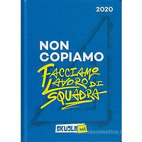 Skuola.net 2019-2020. Agenda 16 mesi. Blu