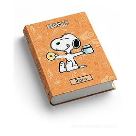 Diario Peanuts cartonato non datato. Arancione