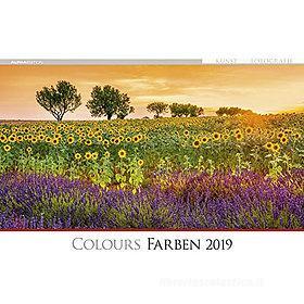 Calendario 2019 Colours 49,5x34 cm
